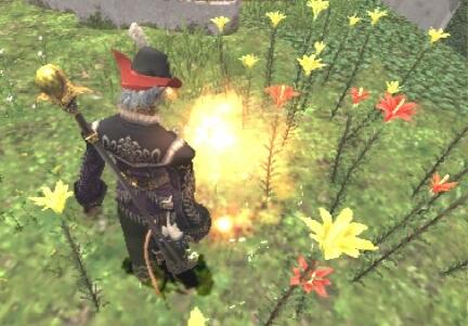 炎エレと花