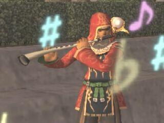 王国槍兵式角笛