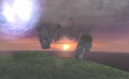 リヴェーヌ岩石群入り口