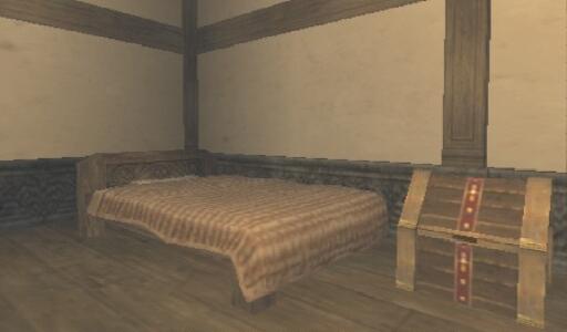 サンドリアレンタルハウス・ベッド