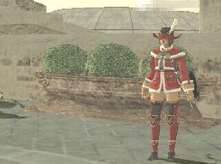 赤AFの帽子にサンタも似合うよ!(女の子限定かも)