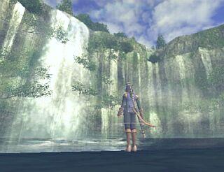 ミザレオの滝
